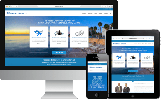 Responsive Web Designers in Charleston South Carolina