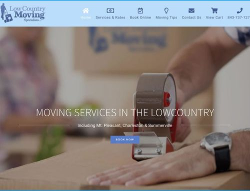 Website Design for Lowcountry Moving Specialists
