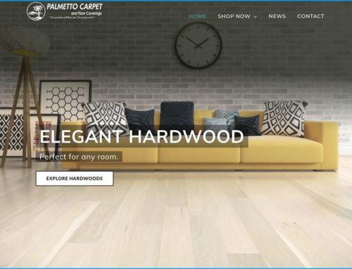 Website Design for Palmetto Carpet