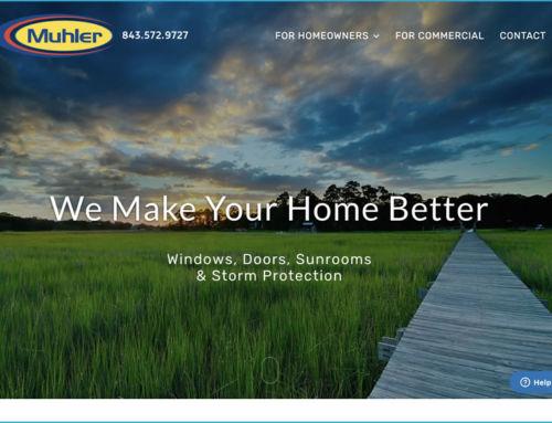 Web Design for the Muhler Company
