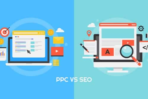 "What is the difference between ""Organic SEO"" and ""PPC""?"